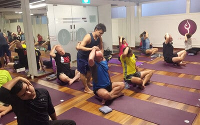 1-Hour Yoga Class for 1 Person (8 Sessions)
