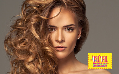 [11.11] Express Hair Wash with Blow Dry / Straighten for 1 Person