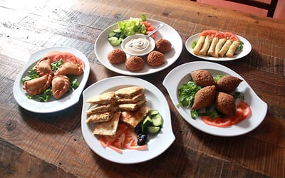 Two-for-One Mediterranean and Middle Eastern Cuisine for 2 People