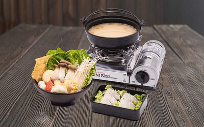 Premium Grouper Fish with Mini Steamboat for 1 Person