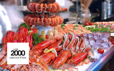 (Sun - Thu) Seafood Extravaganza Dinner Buffet for 1 Adult