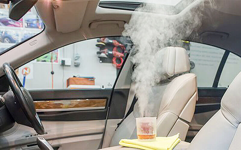 Car Wash with Interior Vacuuming, Chemical Fumigation, and Tyre Dressing for 1 Car