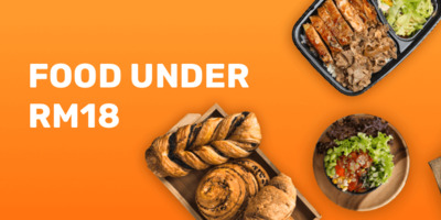 Food deals under RM18