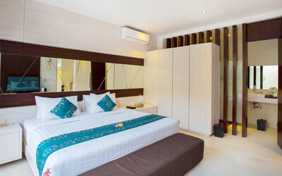 Kuta: 4D3N in 2 Bedroom Private Pool Villa (for 4) + Breakfast + Afternoon Tea + One Way Airport Transfer