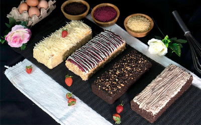 Cake Oleh-Oleh By Medan Mulaka Choco Maltine / Cheese