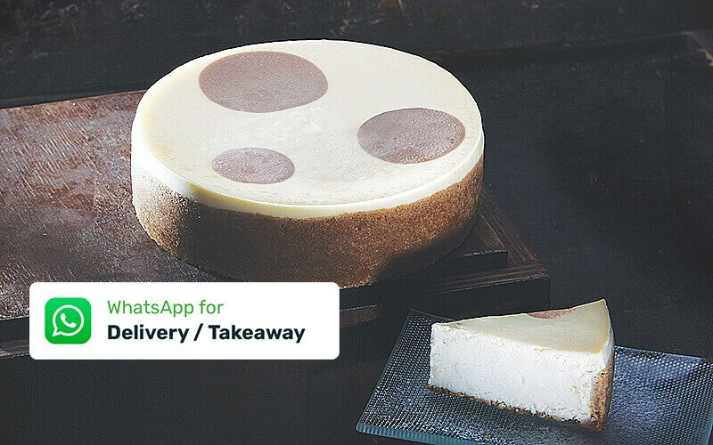 "(Takeaway) One (1) 7"" Over The Moon New York Cheesecake"