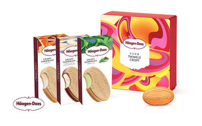 Häagen-Dazs Ice Cream Mooncakes: Twinkle Crispy Set