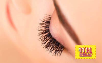 [11.11] 50-Piece 3D Korean Eyelash Extensions for 1 Person