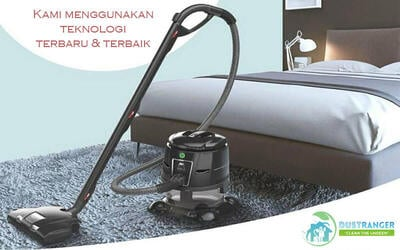 Vacuum Hydro Cleaning 2 Kasur (All Size) + Free Vacuum 8 Bantal / Guling