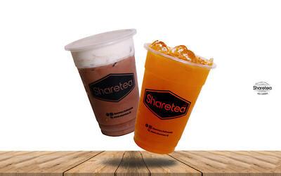 Cocoa Rocksalt & Cheese (Medium) + Mango Green Tea (Medium)