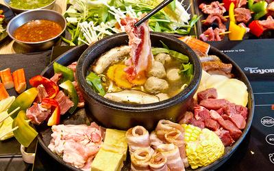 Shabu-Shabu Lunch Buffet