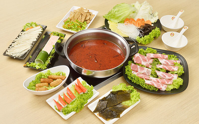 Chiow Lin Pork Steamboat Set for 2 People