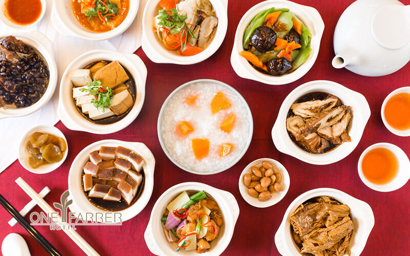 All You Can Eat Teochew Porridge Supper Buffet with Free-Flow Chinese Tea for 2 People