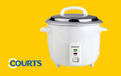 One (1) Pensonic 1.8L Rice Cooker