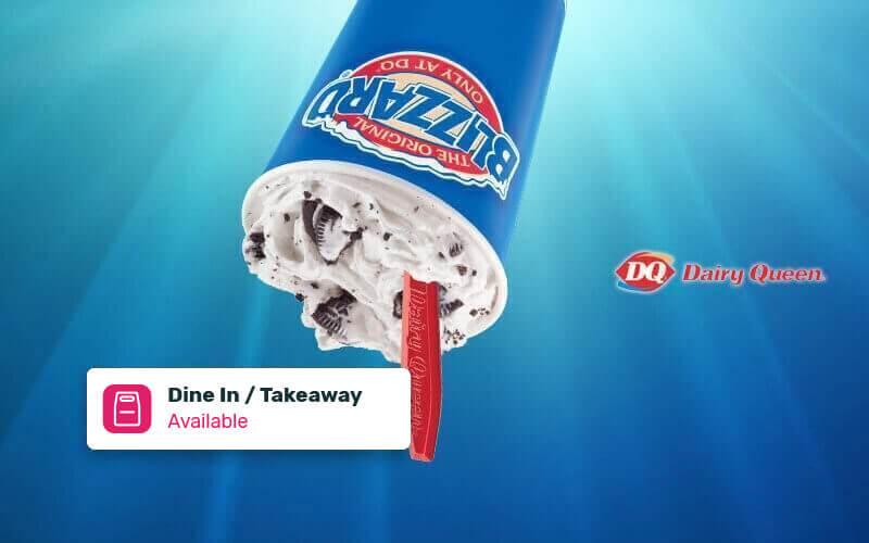 [#FaveBirthday] Buy 1 Get 1: Buy 1 Medium Blizzard Oreo Flavor Get 1 Medium Any Flavor - Dine in & Take Away