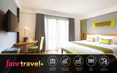 [FAVE Travel+] Kuta: 6D5N in Deluxe Room + Breakfast + Return Airport Transfer + 1x Afternoon Tea