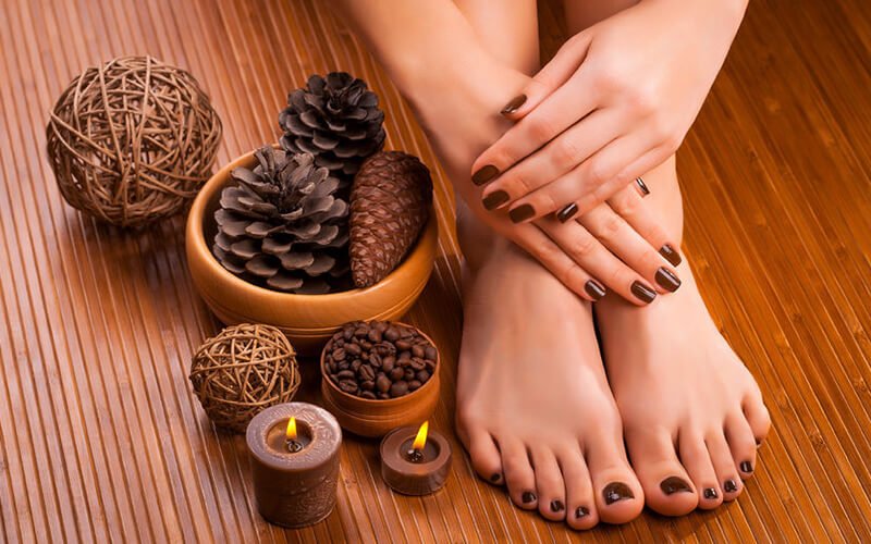 Gel Manicure and Spa Pedicure + Nail Art for 1 Person