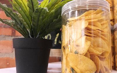 Salted Egg Yolk Chips