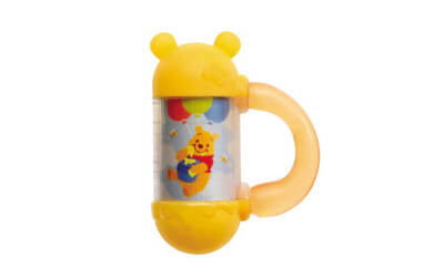 Takara Tomy Disney Grip and Shake Baby Chime (Winnie The Pooh)