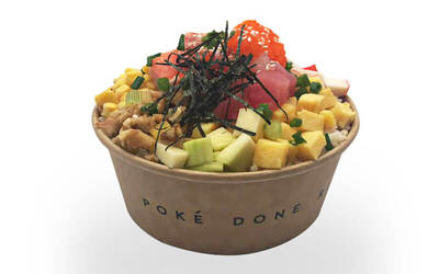 Build Your Own Poké Bowl for 1 Person
