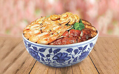 [CNY] Guang Xi Abalone Poon Choi for 5 People