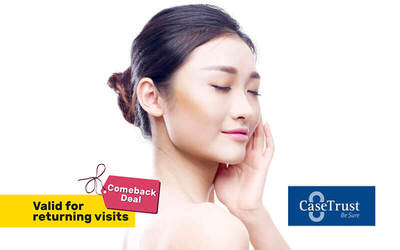 1.5-Hour Dermabrasion Diamond Peel Facial with Healing Ampoule and Premium Mask + Neck and Shoulder Massage for 1 Person (Existing Customers Only)