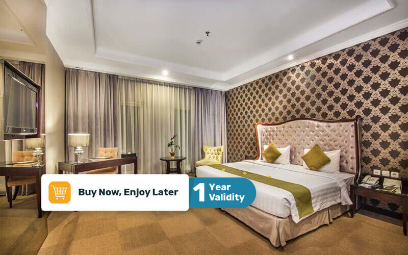 Bogor: 2D1N in Deluxe Room + Breakfast (Tuesday - Friday)