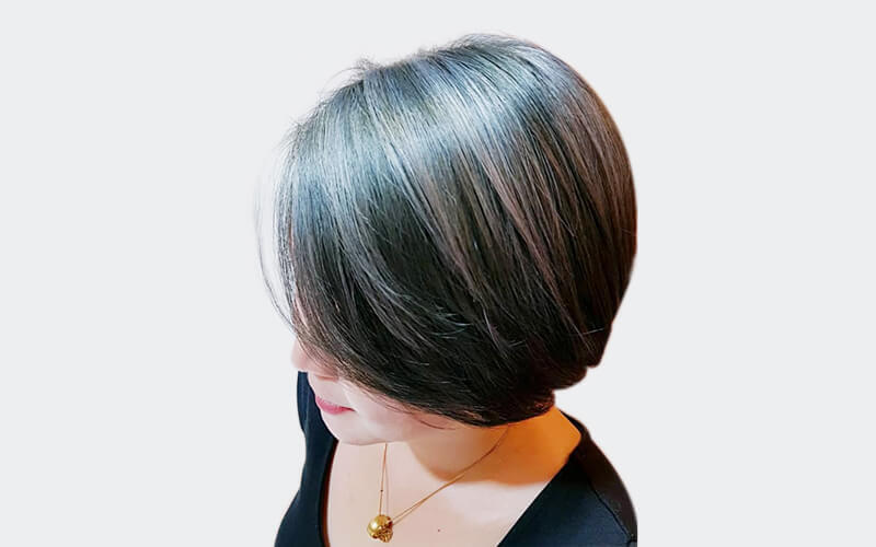 Hair Colouring + Wash and Blow for 1 Person (Above Shoulder Length)