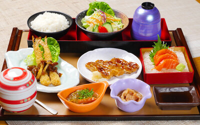 Japanese Set Meal for 1 Person