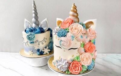5-Inch Designer Themed Cakes