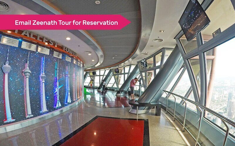 KL Tower Sky Box + Sky Deck + Observation Deck Admission for 1 Adult (MyKad Holder)