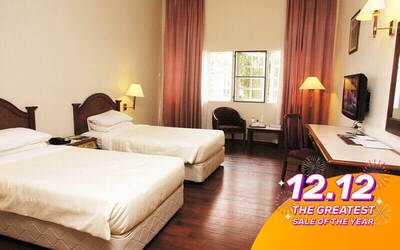 [12.12] Cameron Highlands: 3D2N Stay in Superior Room with Breakfast for 2 People