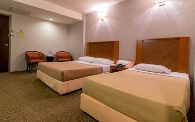 Taiping: 2D1N Stay in Family Room for 3 People
