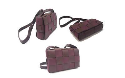 One (1) PU Leather Crisscross Bag
