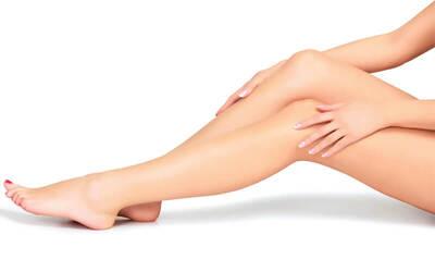 Waxing Half Leg