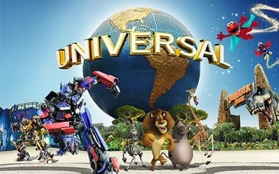 Universal Studios + Cable Car (Sky Pass Round Trip) + Good Old Days Buffet Dinner / Indian Cuisine Meal for 1 Child