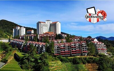 [Meriah Raya] Cameron Highlands: 2D1N Stay in Superior Room for 2 People with 1 Entry to Lucky Draw