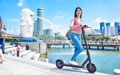 Segway Mini PRO/ Scooter at Marina Bay for 60 Minutes