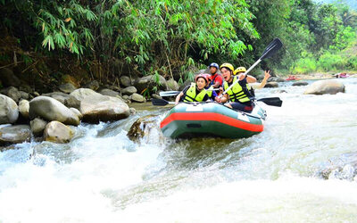 Gopeng: 3-Hour White Water Rafting for 1 Person (Private Tour)