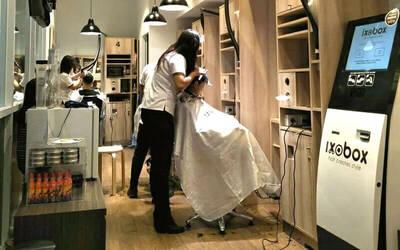 1x Hair Cut + Hair Cleaning by Ixoair