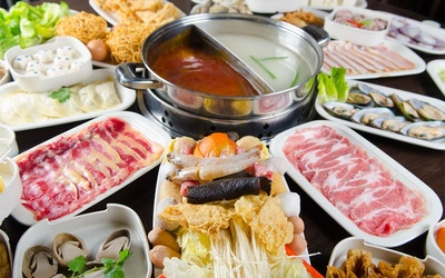 Steamboat Set + Free Drink for 2 People
