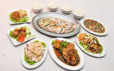 (Weekday) 5-Course Teochew Seafood Indulgence Set for 4 People