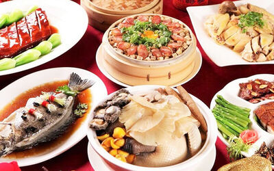 7-Course Chinese Lunch Set for 5 - 7 People