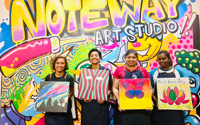 2-Hour Canvas Art Jamming Workshop for 1 Person