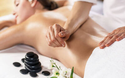 2-Hour Essential Oil Full Body Massage with Brightening Back Scrub and Mask for 1 Person
