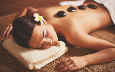 Full Body Massage + Reflexology + Hot Stone + Shower