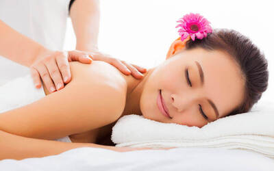 2-Visit Full Body Aromatherapy Massage + Guasha and Hydrating Facial Spa for 1 Person