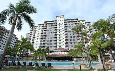 Port Dickson: 2D1N Stay at Glory Beach Resort in 3-Bedroom Apartment with Admission to Turtle Hatchery for 5 People