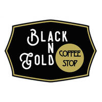 Black And Gold Coffee Stop featured image