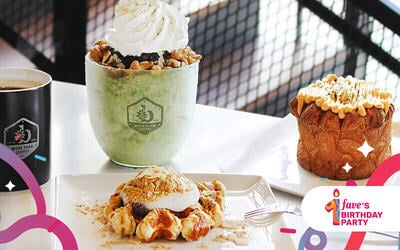 [Fave's Bday] RM30 Cash Voucher for A la Carte Menu and Drinks
